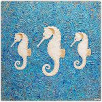 Seahorses Abstract – SOLD