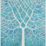 Rainy Beach Tree – SOLD