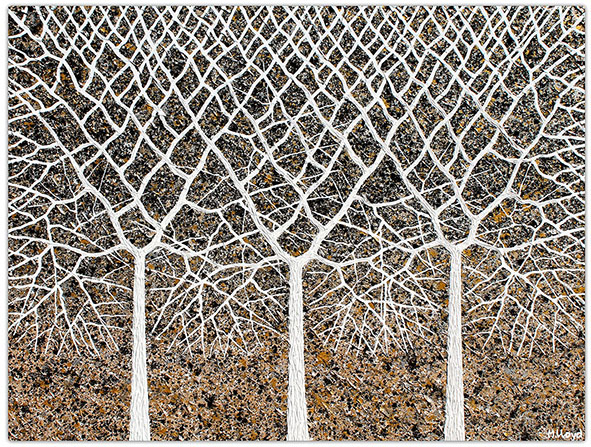 Trees Of Life 100cm 75cm Miranda Lloyd
