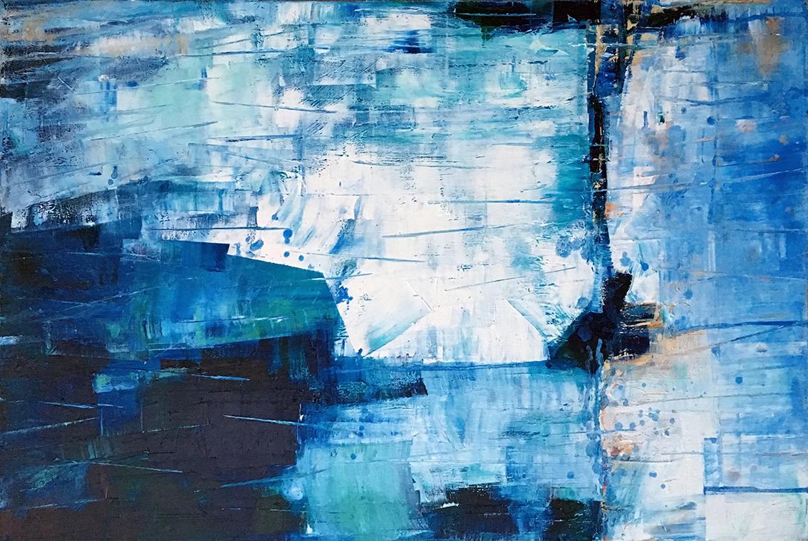 Blue Cliffs Landscape Lr
