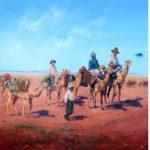 1910 The Cameleers Australian Fine Art