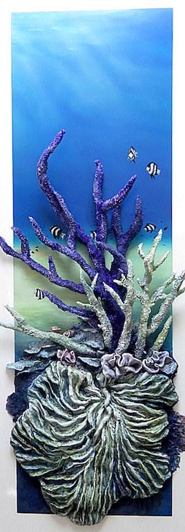 Coral Garden At Oyster Reef Petra Meikle De Vlas