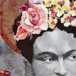 St Frida des Fleurs – Ltd Ed Print on 400gsm Cotton Canvas on frame