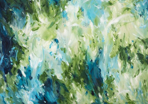 Envious Journey Abstract Painting By Amber Gittins