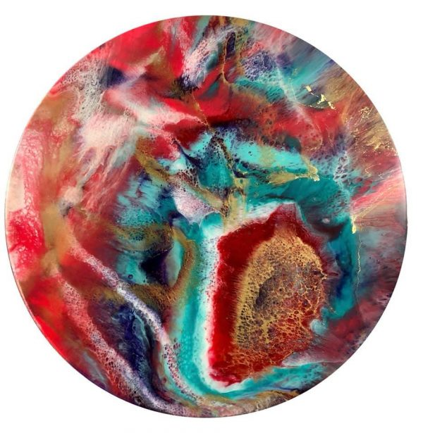 Firestone Gayle Reichelt Art 60cm Resin Artwork.