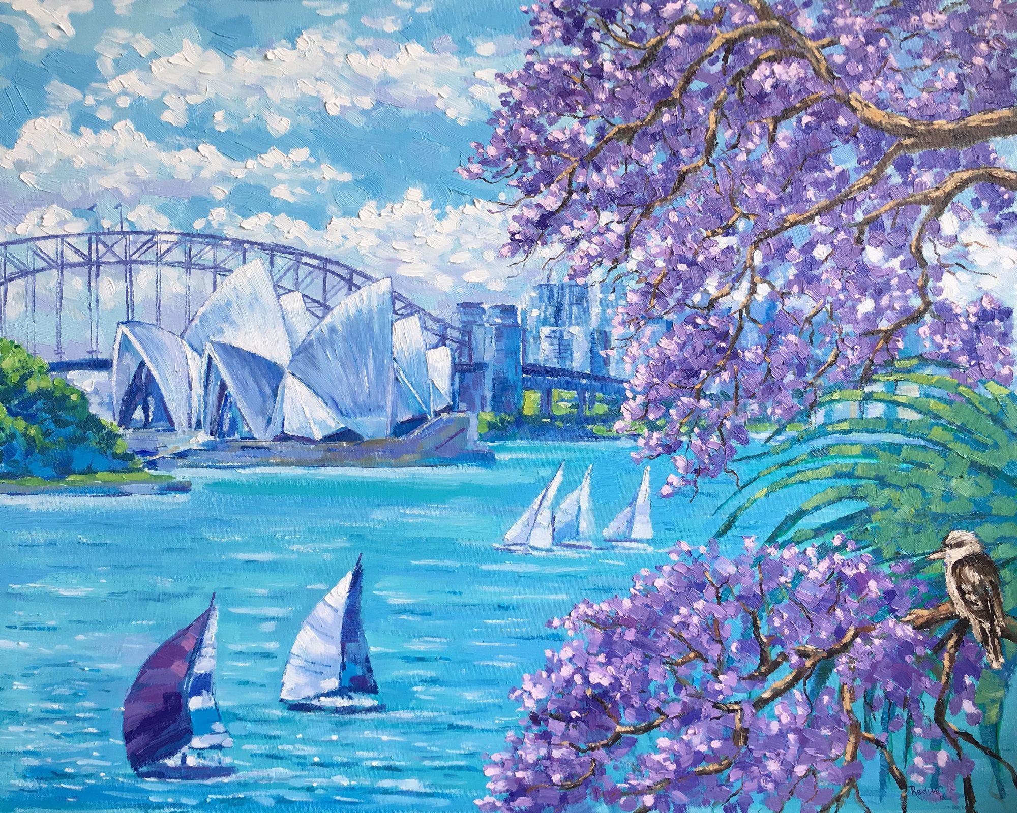 Jacaranda Season In Sydney 1