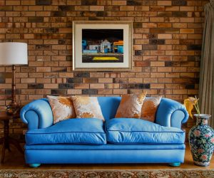 Renovate For Less Couch Blue Mq