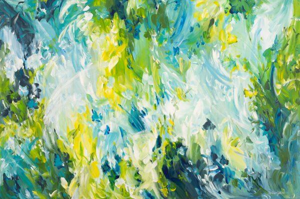 Springtime Fever By Australian Artist Amber Gittins