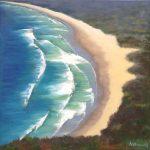 Above the beach – seascape