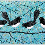 Willie Wagtails Bird Series – SOLD