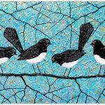 Willie Wagtails Bird Series – SOLD
