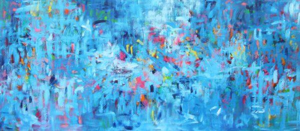 Belinda Nadwie Art Abstract Painting Eternal Optimist