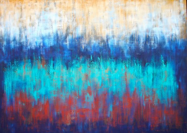 Belinda Nadwie Art Abstract Painting Water And Dust
