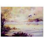 """Fog"" – original landscape painting"