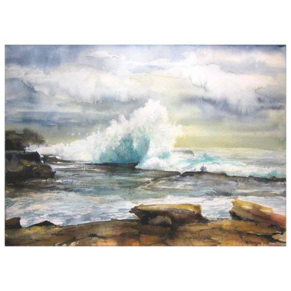 Maroubra Clouds&waves 1
