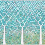 Trees of Life – Tranquil garden – SOLD