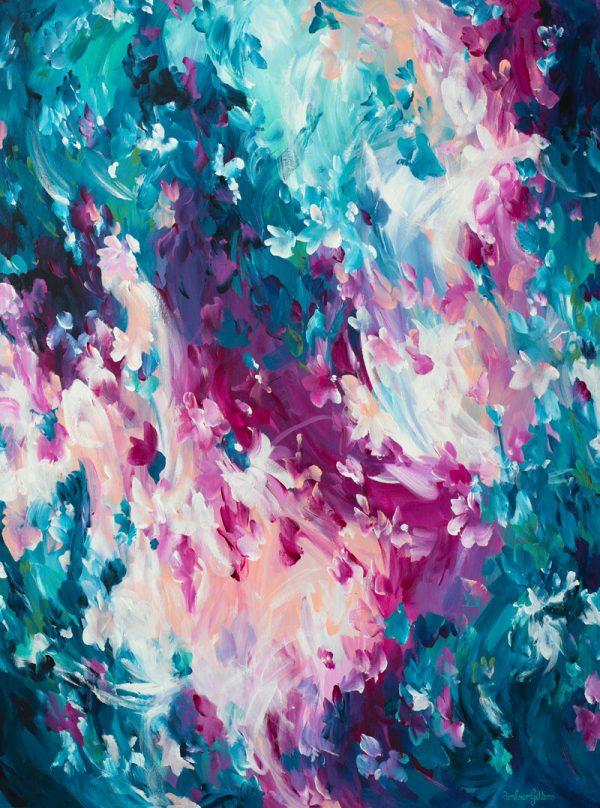 Blush By Amber Gittins Australian Artist