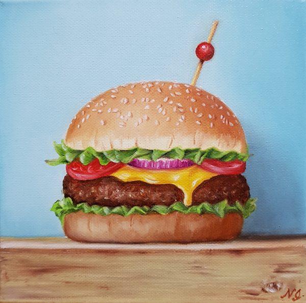 Cheese Burger Sm