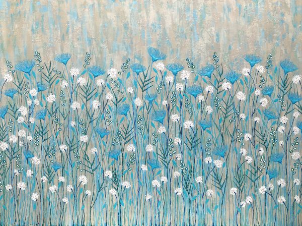 Coastal Wild Flowers By Lisa Frances Judd