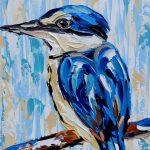 Sacred Kingfisher – Quick Study