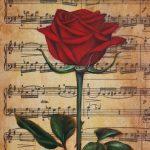 Music Rose I
