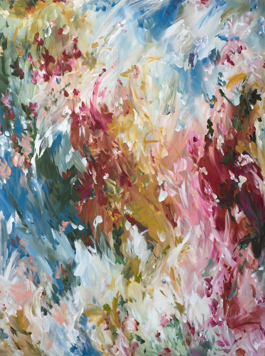 Outback Love By Australian Abstract Artist Amber Gittins