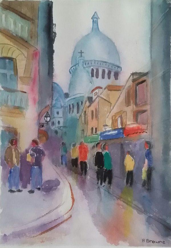 Paris Street Scene