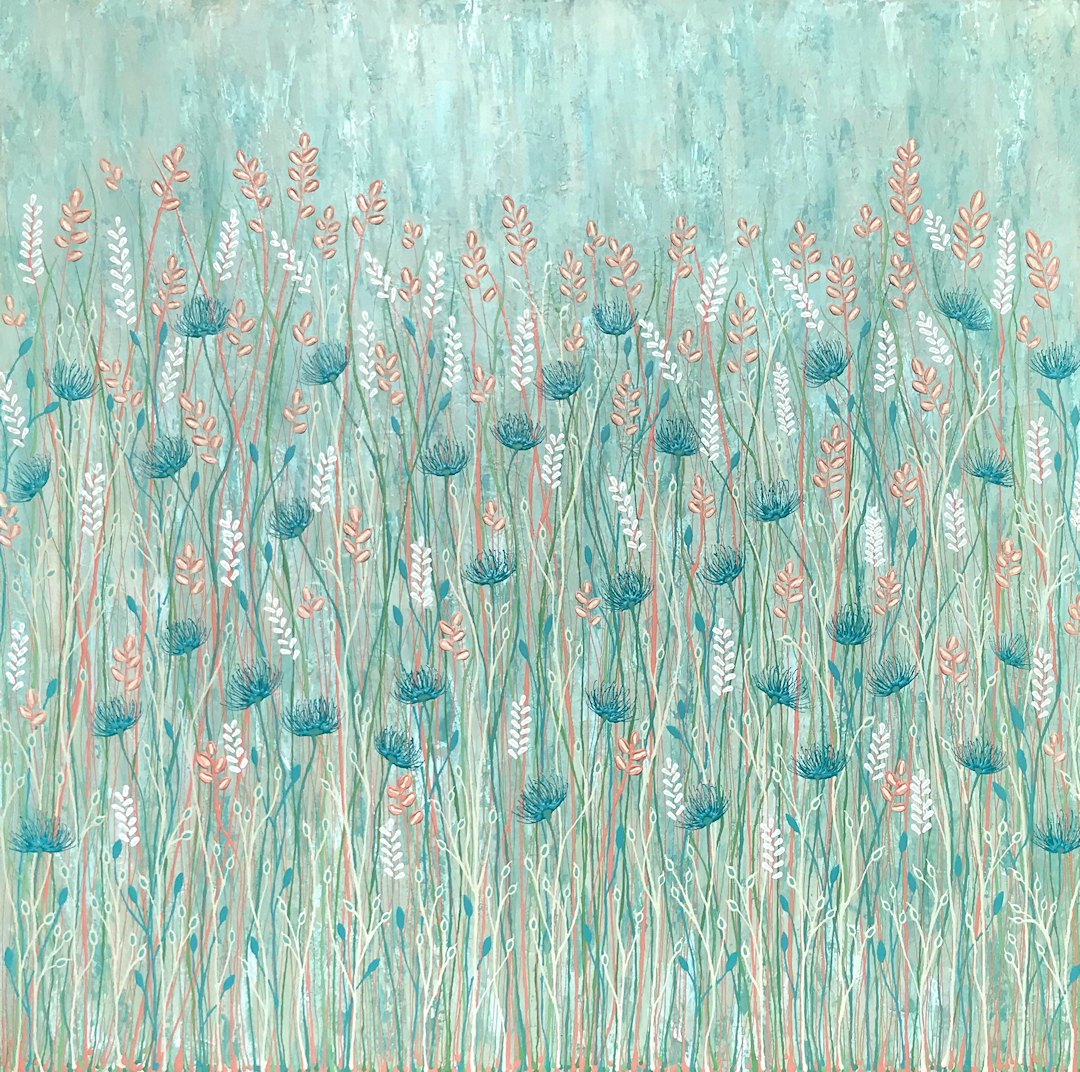 Pastel Wild Flowers By Lisa Frances Judd Web2