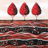 Red Wine Treescape By Lisa Frances Judd Web