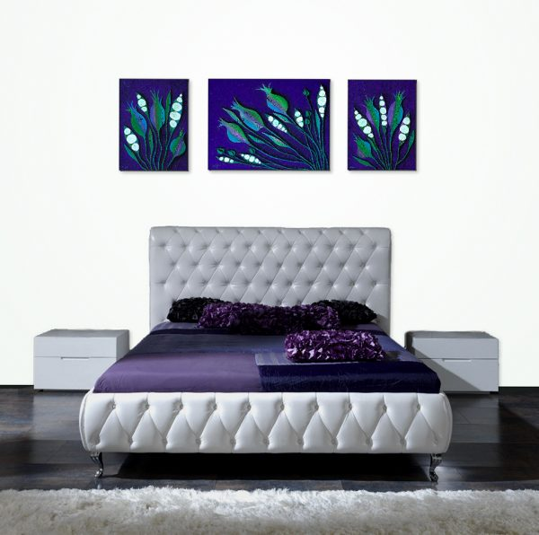 Seed Pods Triptych Display 2