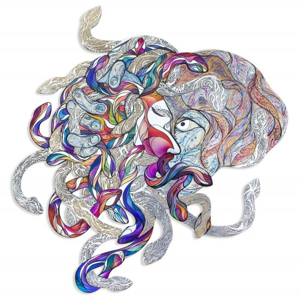 The Gorgons Muse By Ilia Chidzey White