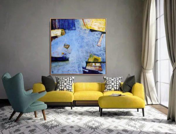 Weight Of Memory Ii With Yellow Lounge