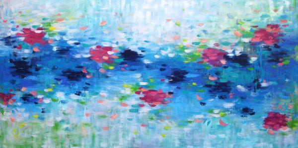 Belinda Nadwie Art Abstract Painting Love Is Kind