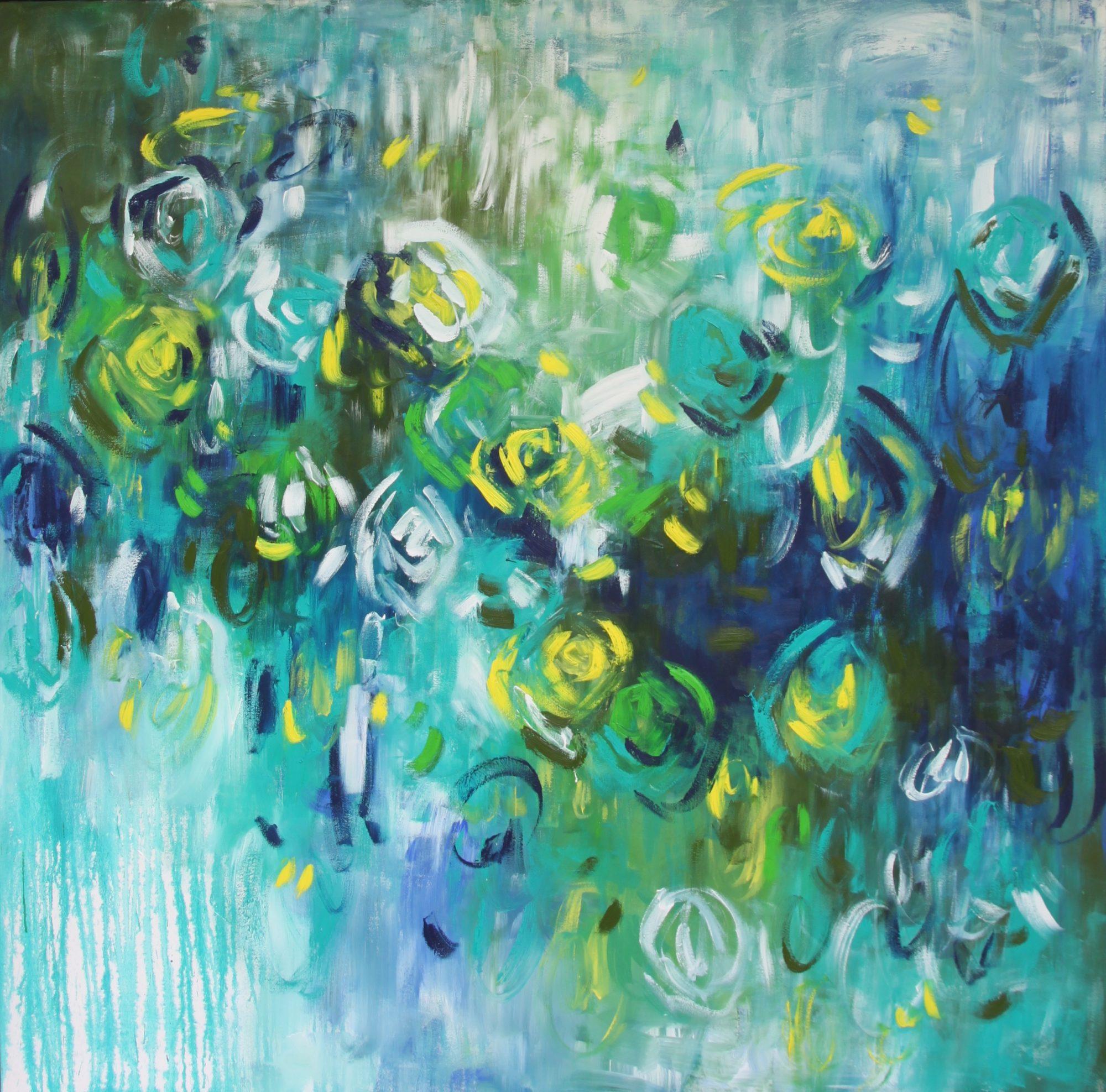 Belinda Nadwie Art Abstract Painting Sweet Surrender