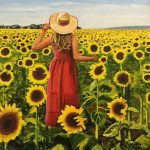 Sunflower Salutation