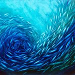 Aqua Fish Swirl