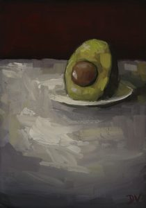 Avocado With Plate A