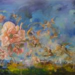 Heaven in a Flower Ltd Ed Print on canvas - 105 x 75cm