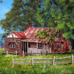 Abandoned old farmhouse Ltd Ed Giclee Print