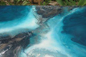 Large Ocean Art For Sale By Australian Artist Petra Meikle De Vlas