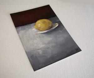 Lemon With Plate 2