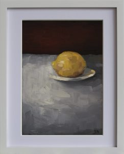 Lemon With Plate 2b