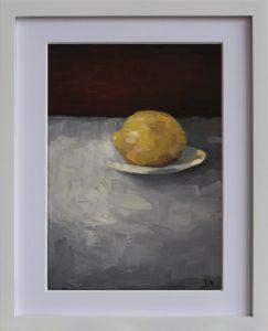 Lemon With Plate 2b
