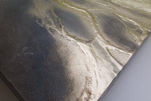 """"""" Molten Gold """" Close Up Painting By Petra Meikle De Vlas"""