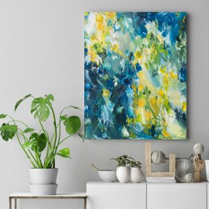 Moody Blues By Amber Gittins Australian Artist Mockup