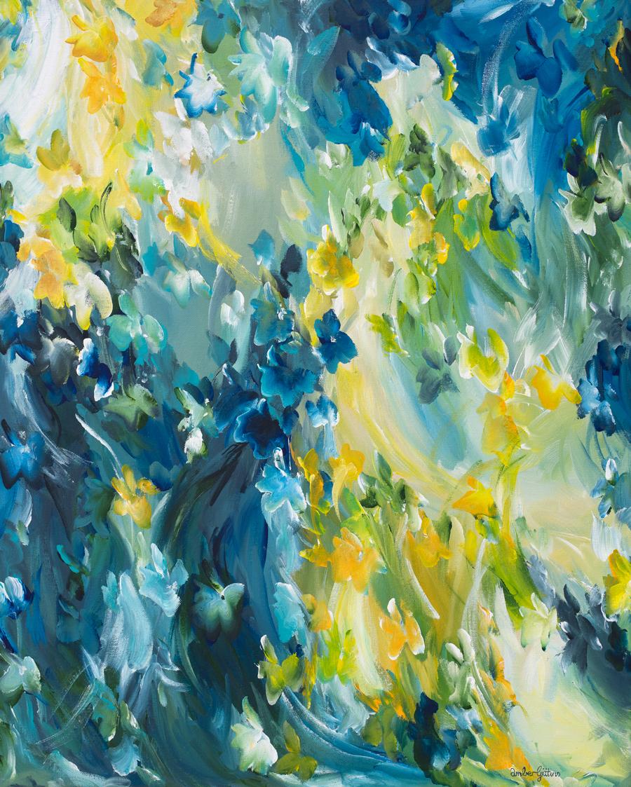 Moody Blues By Amber Gittins Australian Artist