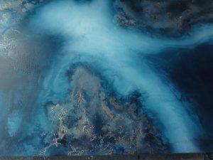 Ocean Blue Art Of Petra Meikle De Vlas