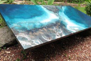 Ocean Wall Art For Sale By Abstract Ocean Artist Petra Meikle De Vlas