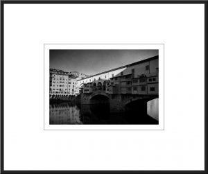 Pcb1434ob Ponte Vecchio Framed
