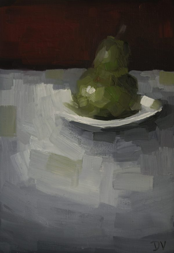 Pear With Plate 2a